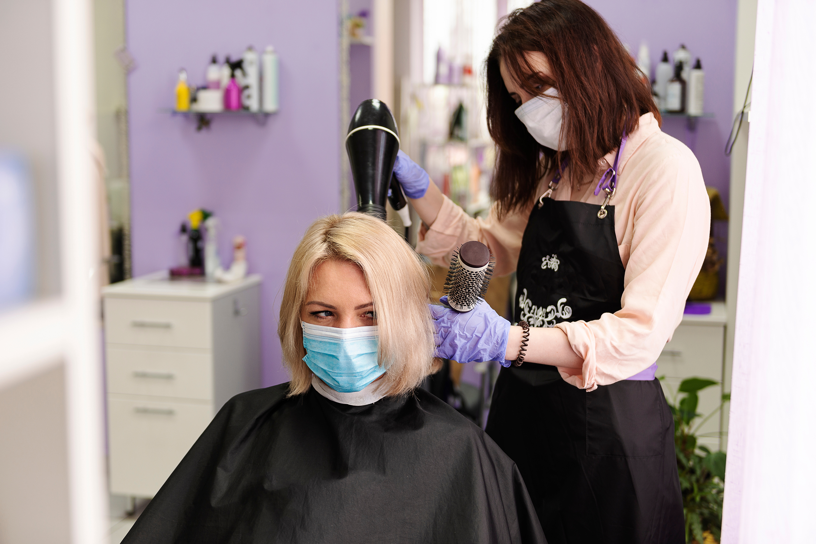 Hair Salons Are Open, but Should You Go?  Rutgers University