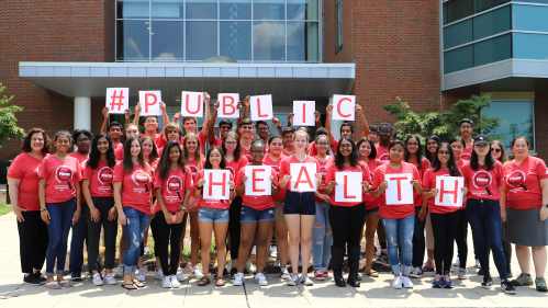 School of Public Health students