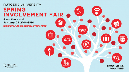 Rutgers Student Involvement Fair Spring 2021
