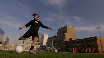 Former Rutgers-Newark Soccer player Tim Farias