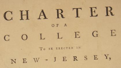 The original charter of 1766