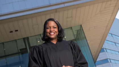 Fabiana Pierre-Louis (RC'02, CLAW'06) is an Associate Justice of the New Jersey Supreme Court