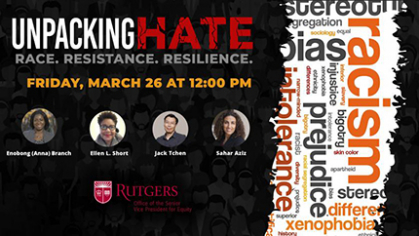 unpacking hate event invitation