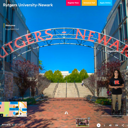 Newark virtual tour