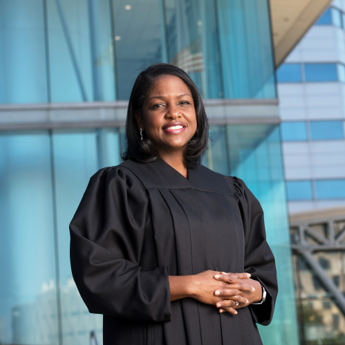 Fabiana Pierre-Louis (RC'02, CLAW'06),  Associate Justice of the New Jersey Supreme Court