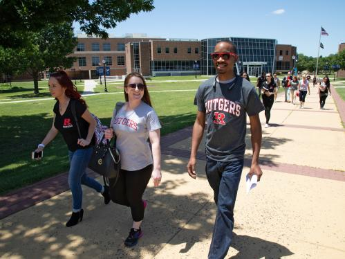 Rutgers students at Camden Community College