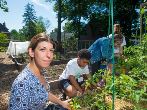 4-H summer camp at the Montclair Community Farm
