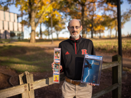 George Tsacnaris turned a collector's item he bought as a Rutgers student into a generous donation to help students decades later.