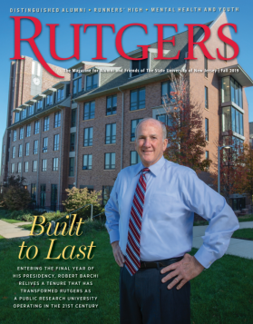 Rutgers Magazine Cover Fall 2019 Issue