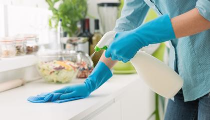 Your kitchen cabinet may already be stocked with cleaning agents that can kill coronavirus. But not all chemicals will work, and none are as gentle on your skin as commercial hand sanitizers, according to Rutgers University experts.