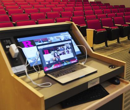 The Office of Information Technology provided remote learning tools for faculty and students