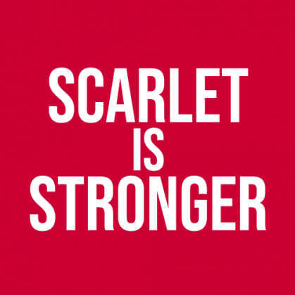 Scarlet is Stronger